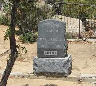 ADAMY, CARL JACKSON - Yavapai County, Arizona | CARL JACKSON ADAMY - Arizona Gravestone Photos
