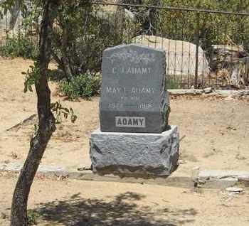 VENABLE ADAMY, MAY L. - Yavapai County, Arizona | MAY L. VENABLE ADAMY - Arizona Gravestone Photos