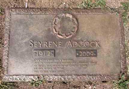ADCOCK, SEYRENE - Yavapai County, Arizona | SEYRENE ADCOCK - Arizona Gravestone Photos