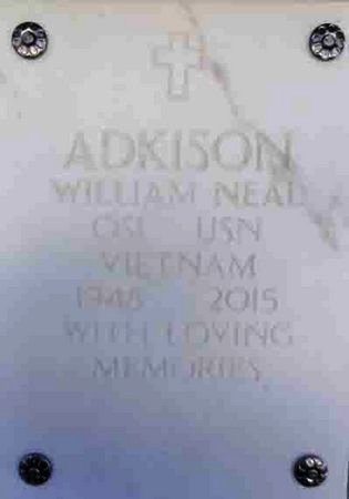 ADKISON, WILLIAM NEAL - Yavapai County, Arizona | WILLIAM NEAL ADKISON - Arizona Gravestone Photos