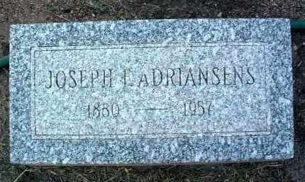 ADRIANSENS, JOSEPH F. - Yavapai County, Arizona | JOSEPH F. ADRIANSENS - Arizona Gravestone Photos