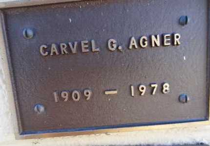 AGNER, CARVEL GRAHAM - Yavapai County, Arizona | CARVEL GRAHAM AGNER - Arizona Gravestone Photos