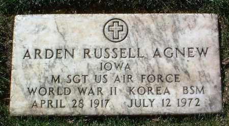 AGNEW, ARDEN RUSSELL - Yavapai County, Arizona | ARDEN RUSSELL AGNEW - Arizona Gravestone Photos