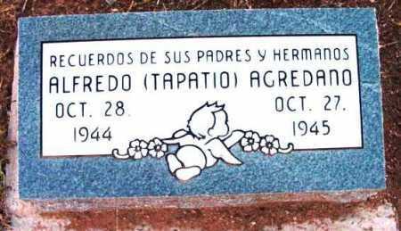 AGREDANO, ALFREDO ACEVES - Yavapai County, Arizona | ALFREDO ACEVES AGREDANO - Arizona Gravestone Photos