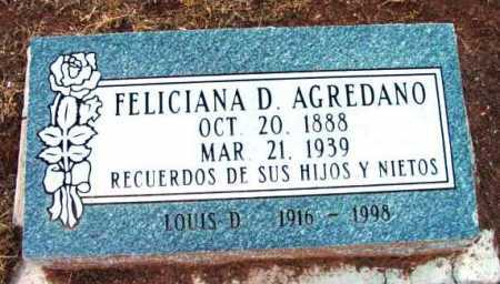 AGREDANO, FELICIANA D. - Yavapai County, Arizona | FELICIANA D. AGREDANO - Arizona Gravestone Photos