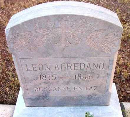 AGREDANO, LEON PONCE - Yavapai County, Arizona | LEON PONCE AGREDANO - Arizona Gravestone Photos