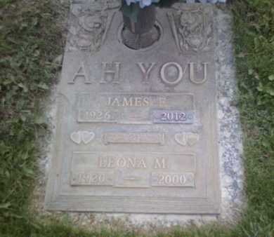 AH YOU, JAMES F. - Yavapai County, Arizona | JAMES F. AH YOU - Arizona Gravestone Photos