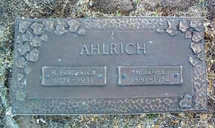 AHLRICH, HEIGHO FREDERICK - Yavapai County, Arizona | HEIGHO FREDERICK AHLRICH - Arizona Gravestone Photos