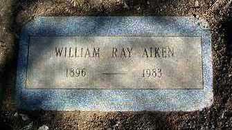 AIKEN, WILLIAM ROY - Yavapai County, Arizona | WILLIAM ROY AIKEN - Arizona Gravestone Photos