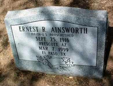 AINSWORTH, ERNEST R. - Yavapai County, Arizona | ERNEST R. AINSWORTH - Arizona Gravestone Photos