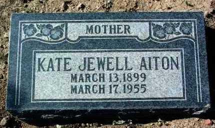 AITON, KATHERINE JEWELL - Yavapai County, Arizona   KATHERINE JEWELL AITON - Arizona Gravestone Photos