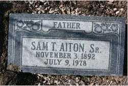 AITON, SAMUEL TURNER, SR. - Yavapai County, Arizona | SAMUEL TURNER, SR. AITON - Arizona Gravestone Photos