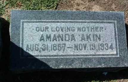 AKIN, AMANDA - Yavapai County, Arizona | AMANDA AKIN - Arizona Gravestone Photos