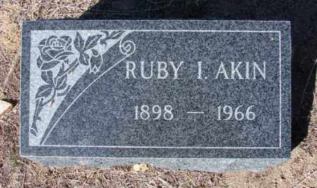 AKIN, RUBY I. - Yavapai County, Arizona | RUBY I. AKIN - Arizona Gravestone Photos
