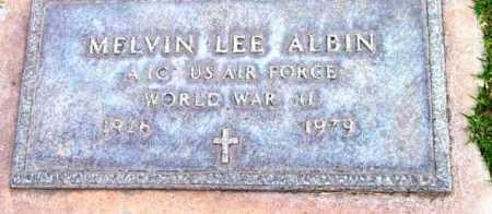 ALBIN, MELVIN LEE - Yavapai County, Arizona | MELVIN LEE ALBIN - Arizona Gravestone Photos