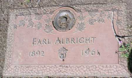 ALBRIGHT, EARL - Yavapai County, Arizona | EARL ALBRIGHT - Arizona Gravestone Photos