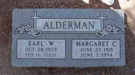 ALDERMAN, EARL W. - Yavapai County, Arizona | EARL W. ALDERMAN - Arizona Gravestone Photos