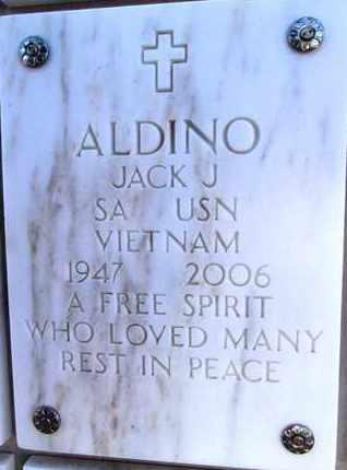 ALDINO, JACK JOSEPH - Yavapai County, Arizona   JACK JOSEPH ALDINO - Arizona Gravestone Photos
