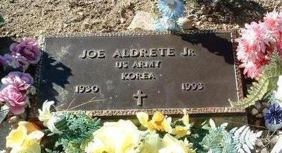 ALDRETE, JOSE M., JR.  (JOE) - Yavapai County, Arizona | JOSE M., JR.  (JOE) ALDRETE - Arizona Gravestone Photos
