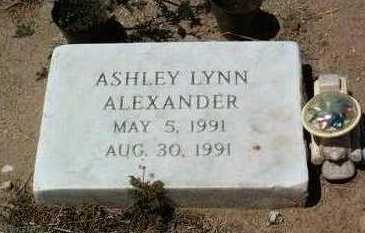 ALEXANDER, ASHLEY LYNN - Yavapai County, Arizona   ASHLEY LYNN ALEXANDER - Arizona Gravestone Photos
