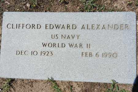ALEXANDER, CLIFFORD EDWARD - Yavapai County, Arizona | CLIFFORD EDWARD ALEXANDER - Arizona Gravestone Photos