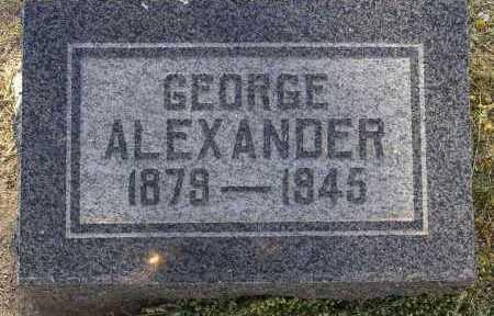 ALEXANDER, GEORGE - Yavapai County, Arizona | GEORGE ALEXANDER - Arizona Gravestone Photos