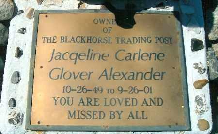 ALEXANDER, JACQUELINE C. - Yavapai County, Arizona   JACQUELINE C. ALEXANDER - Arizona Gravestone Photos