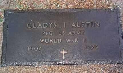 ALFTIN, GLADYS IRENE - Yavapai County, Arizona | GLADYS IRENE ALFTIN - Arizona Gravestone Photos