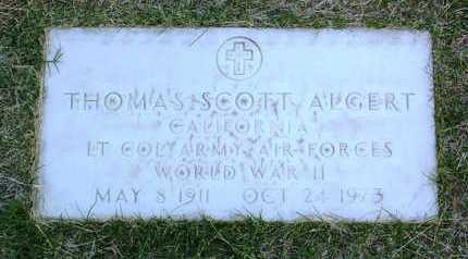 ALGERT, THOMAS SCOTT - Yavapai County, Arizona   THOMAS SCOTT ALGERT - Arizona Gravestone Photos