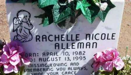 ALLEMAN, RACHELLE NICOLE - Yavapai County, Arizona | RACHELLE NICOLE ALLEMAN - Arizona Gravestone Photos