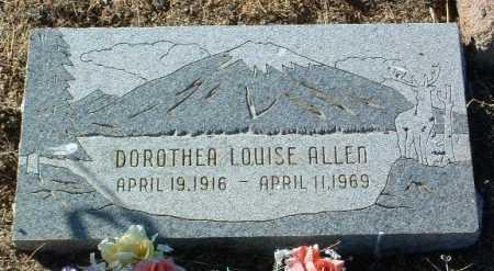 ALLEN, DOROTHEA LOUISE - Yavapai County, Arizona | DOROTHEA LOUISE ALLEN - Arizona Gravestone Photos