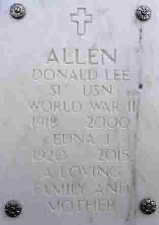 ALLEN, EDNA JEANETTE - Yavapai County, Arizona | EDNA JEANETTE ALLEN - Arizona Gravestone Photos
