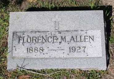ALLEN, FLORENCE M. - Yavapai County, Arizona | FLORENCE M. ALLEN - Arizona Gravestone Photos