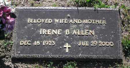 ALLEN, IRENE BELL - Yavapai County, Arizona | IRENE BELL ALLEN - Arizona Gravestone Photos