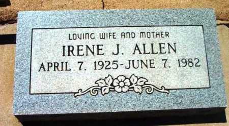 ALLEN, IRENE JANICE - Yavapai County, Arizona | IRENE JANICE ALLEN - Arizona Gravestone Photos