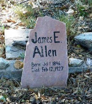 ALLEN, JAMES E. - Yavapai County, Arizona | JAMES E. ALLEN - Arizona Gravestone Photos