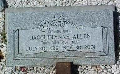ROUNTREE ALLEN, J. R. - Yavapai County, Arizona | J. R. ROUNTREE ALLEN - Arizona Gravestone Photos