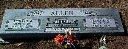 ALLEN, VELMA LUCILE - Yavapai County, Arizona | VELMA LUCILE ALLEN - Arizona Gravestone Photos