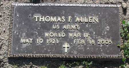 ALLEN, THOMAS FREDERICK - Yavapai County, Arizona | THOMAS FREDERICK ALLEN - Arizona Gravestone Photos