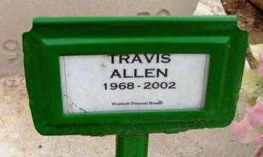 ALLEN, TRAVIS R. - Yavapai County, Arizona | TRAVIS R. ALLEN - Arizona Gravestone Photos