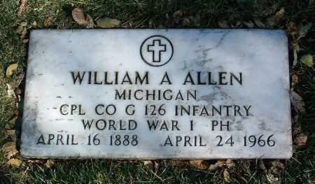 ALLEN, WILLIAM A. - Yavapai County, Arizona | WILLIAM A. ALLEN - Arizona Gravestone Photos