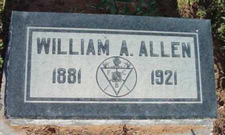 ALLEN, WILLIAM ANDERSON - Yavapai County, Arizona | WILLIAM ANDERSON ALLEN - Arizona Gravestone Photos