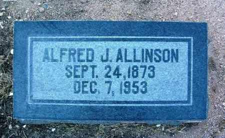 ALLINSON, ALFRED J. - Yavapai County, Arizona | ALFRED J. ALLINSON - Arizona Gravestone Photos