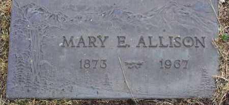 ALLISON, MARY E. - Yavapai County, Arizona | MARY E. ALLISON - Arizona Gravestone Photos