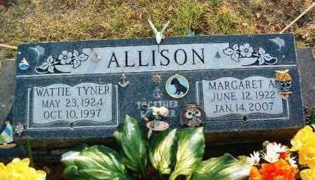ALLISON, WATTIE TYNER - Yavapai County, Arizona | WATTIE TYNER ALLISON - Arizona Gravestone Photos