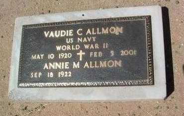 ALLMON, VAUDIE CARL - Yavapai County, Arizona | VAUDIE CARL ALLMON - Arizona Gravestone Photos
