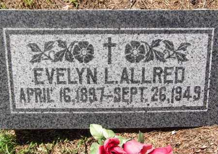 ALLRED, EVELYN LAVERCIA - Yavapai County, Arizona | EVELYN LAVERCIA ALLRED - Arizona Gravestone Photos
