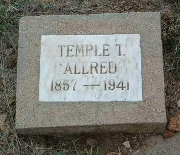 ALLRED, TEMPLE THOMPSON - Yavapai County, Arizona | TEMPLE THOMPSON ALLRED - Arizona Gravestone Photos
