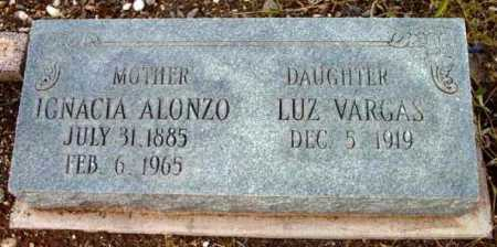 MONTOYA ALONZO, IGNACIA - Yavapai County, Arizona | IGNACIA MONTOYA ALONZO - Arizona Gravestone Photos