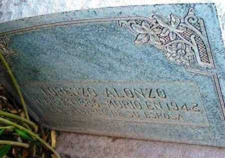 ALONZO, LORENZO - Yavapai County, Arizona | LORENZO ALONZO - Arizona Gravestone Photos